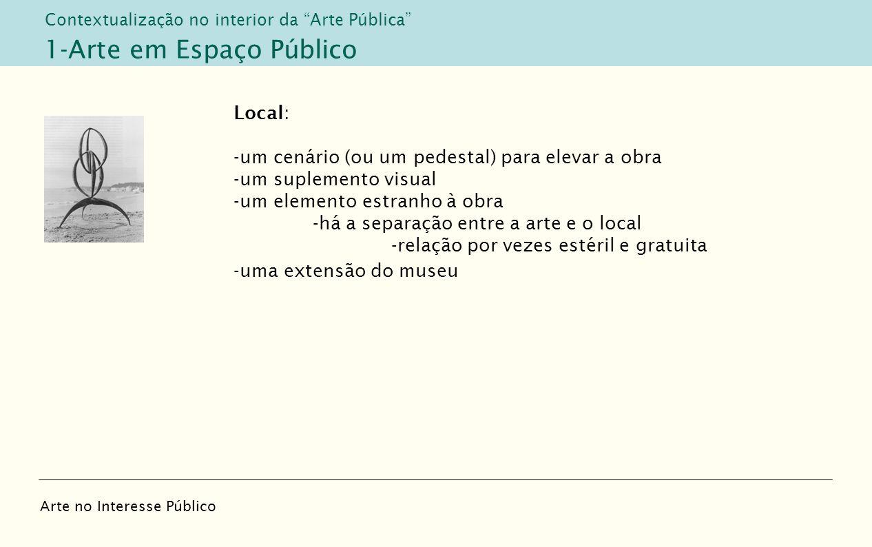 1-Arte em Espaço Público