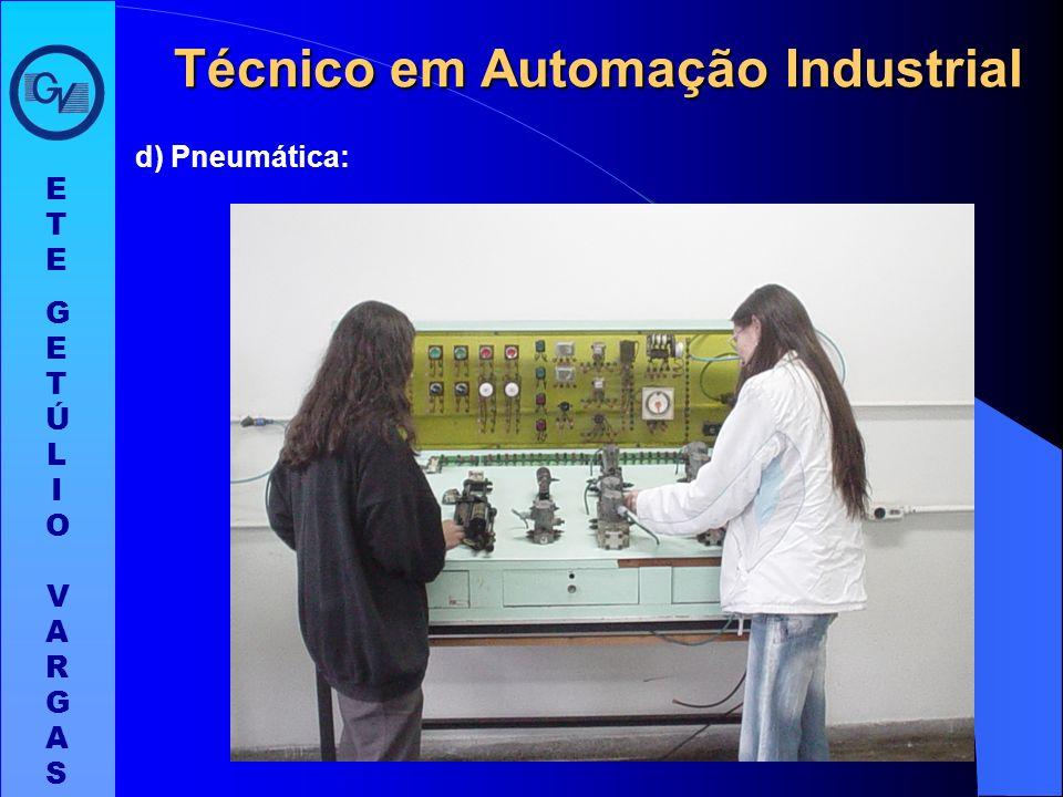 Técnico em Automação Industrial