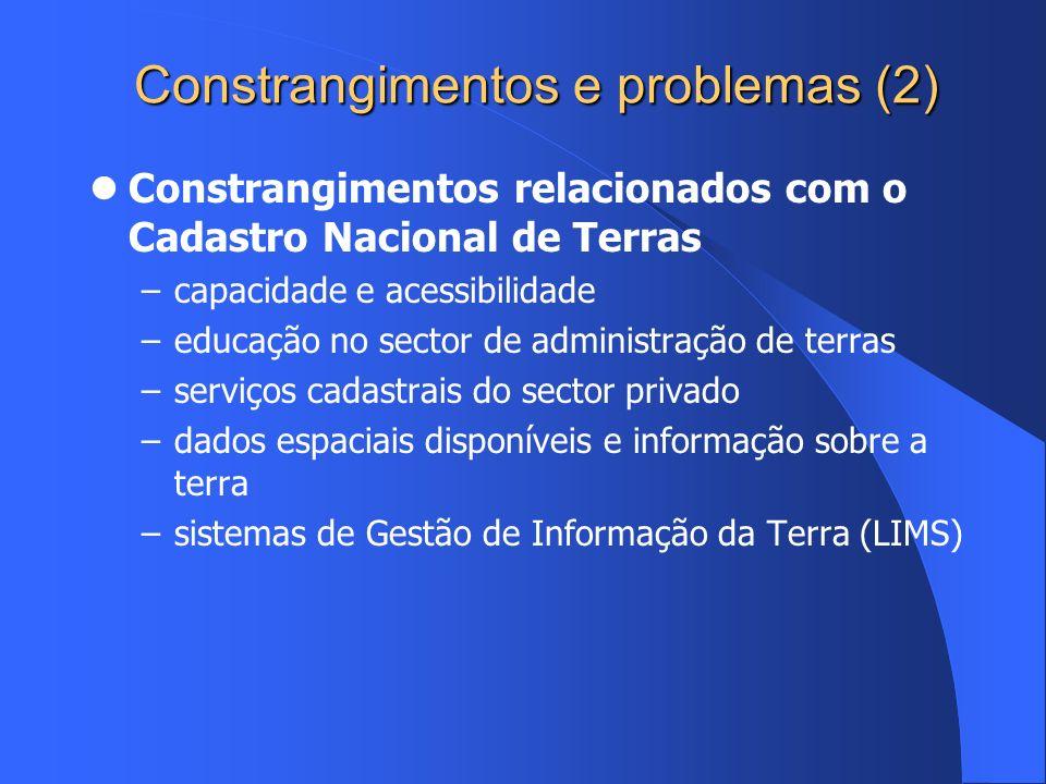 Constrangimentos e problemas (2)