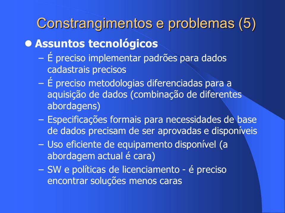 Constrangimentos e problemas (5)