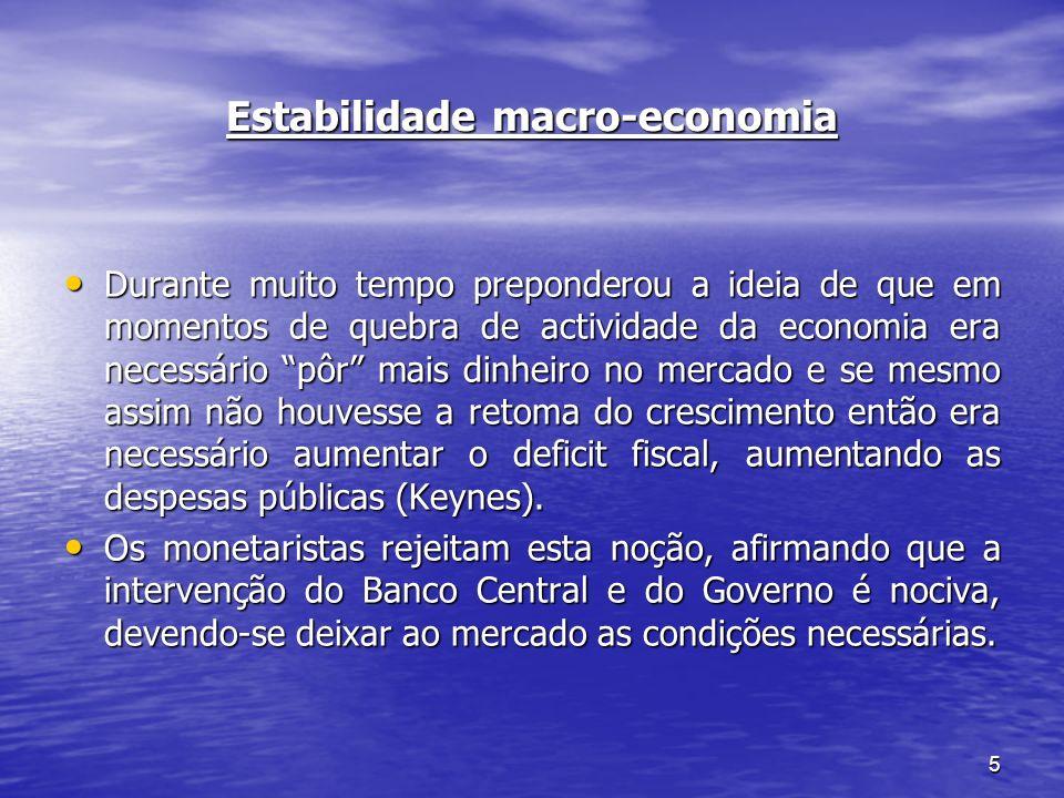 Estabilidade macro-economia