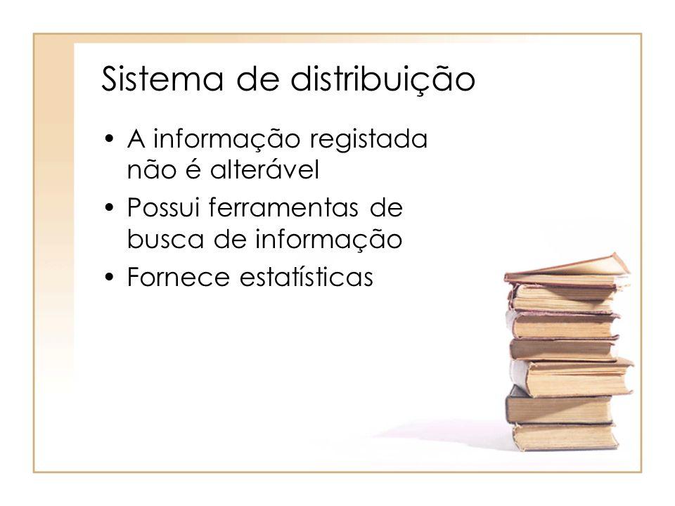 Sistema de distribuição