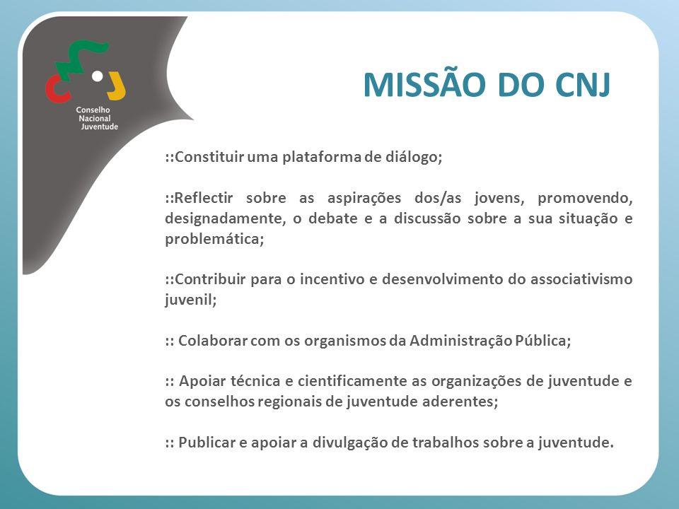 MISSÃO DO CNJ ::Constituir uma plataforma de diálogo;