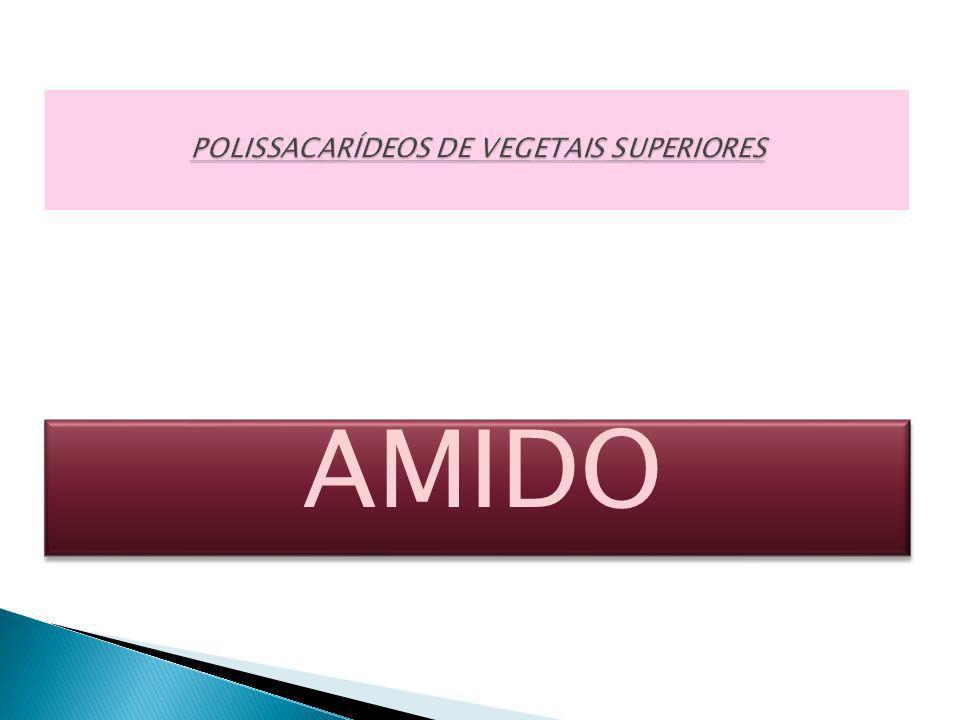POLISSACARÍDEOS DE VEGETAIS SUPERIORES