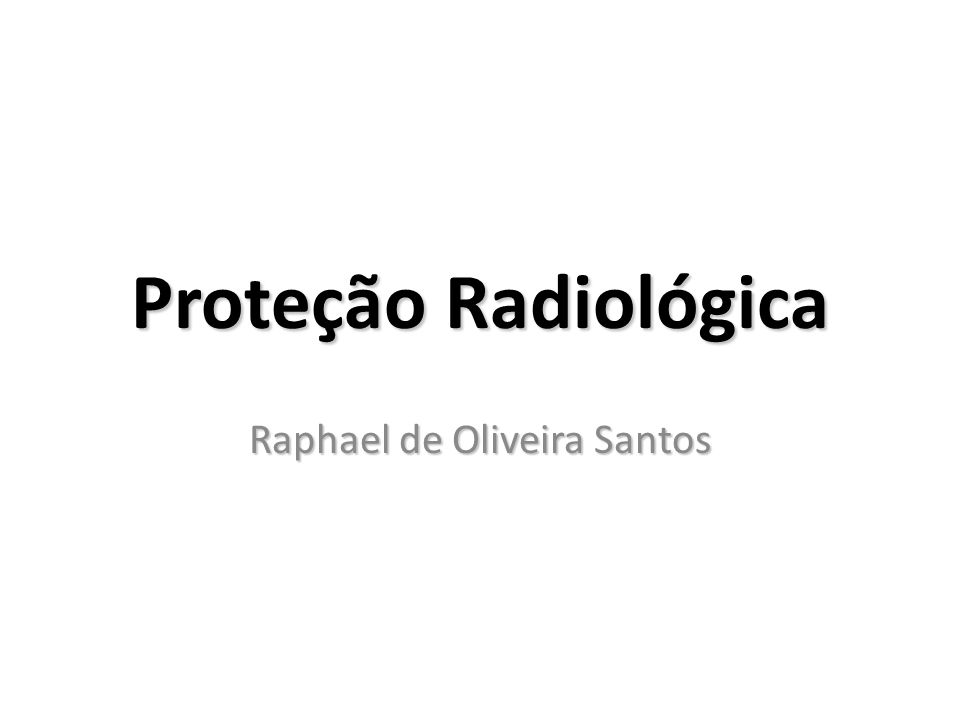 Raphael de Oliveira Santos