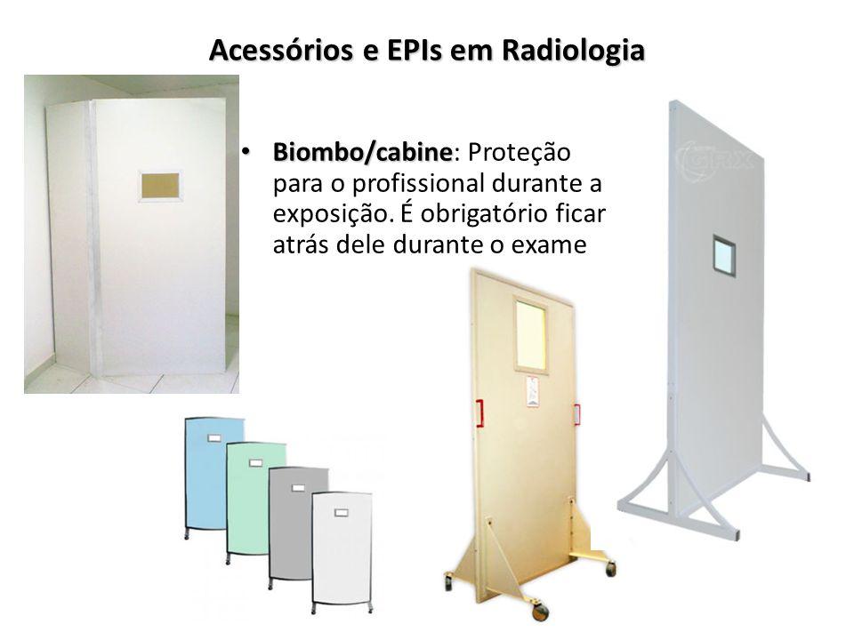 Acessórios e EPIs em Radiologia
