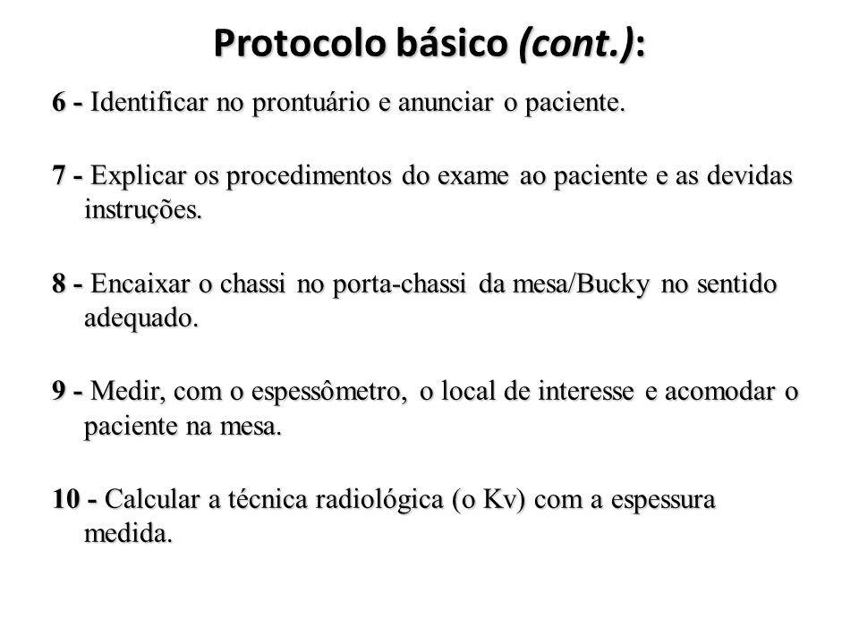 Protocolo básico (cont.):