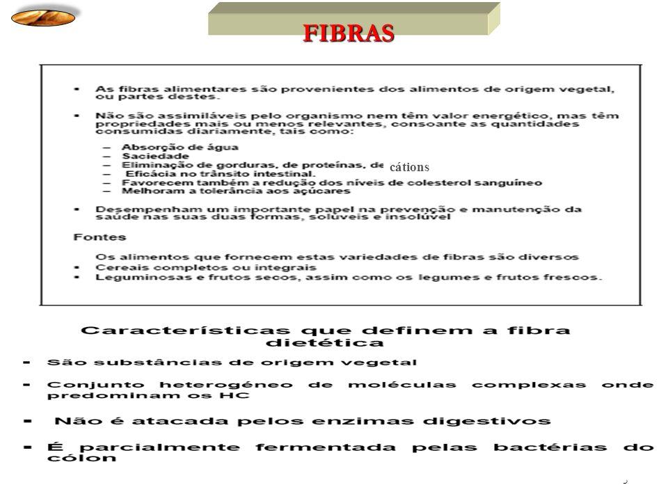 FIBRAS cátions