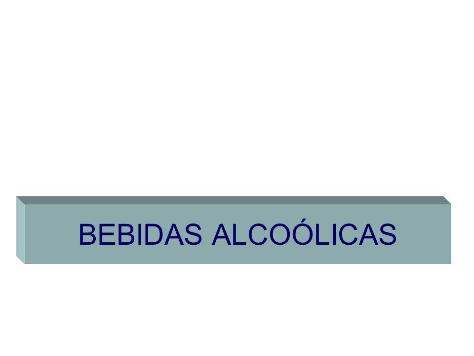 BEBIDAS ALCOÓLICAS