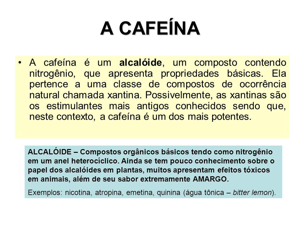 A CAFEÍNA