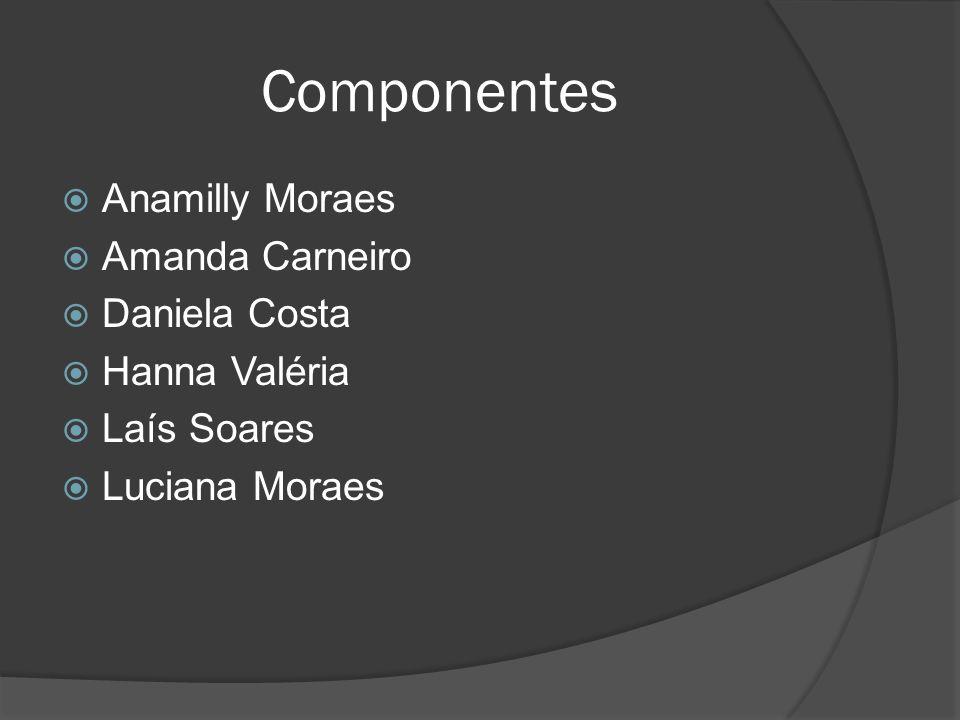 Componentes Anamilly Moraes Amanda Carneiro Daniela Costa