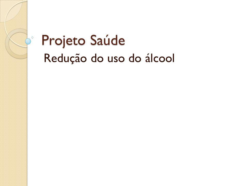 Redução do uso do álcool