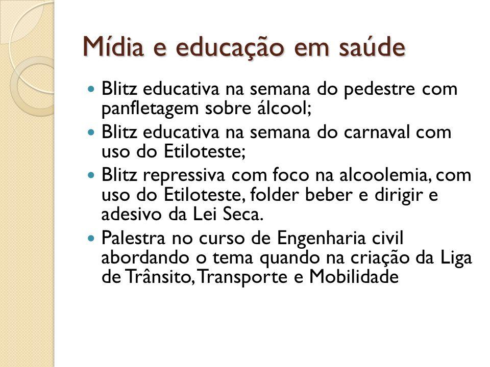 Mídia e educação em saúde