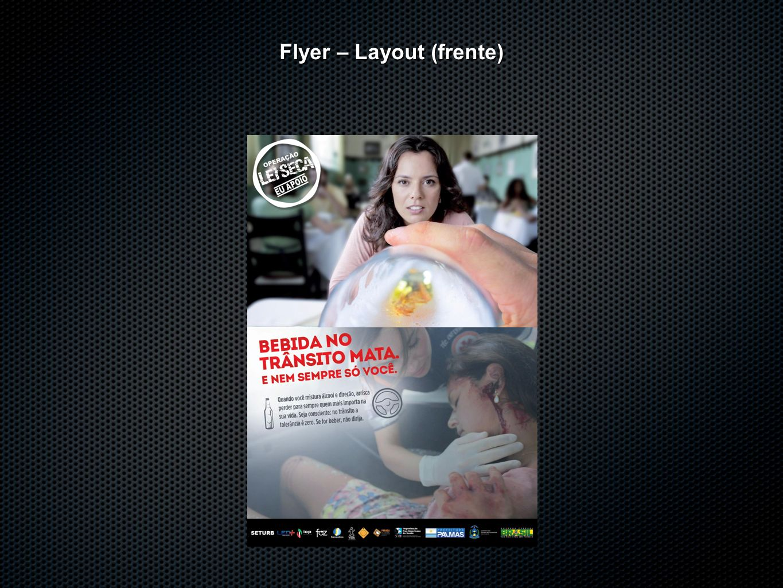 Flyer – Layout (frente)