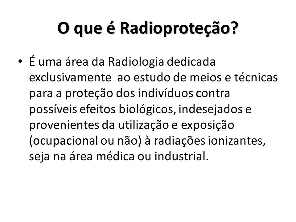 O que é Radioproteção
