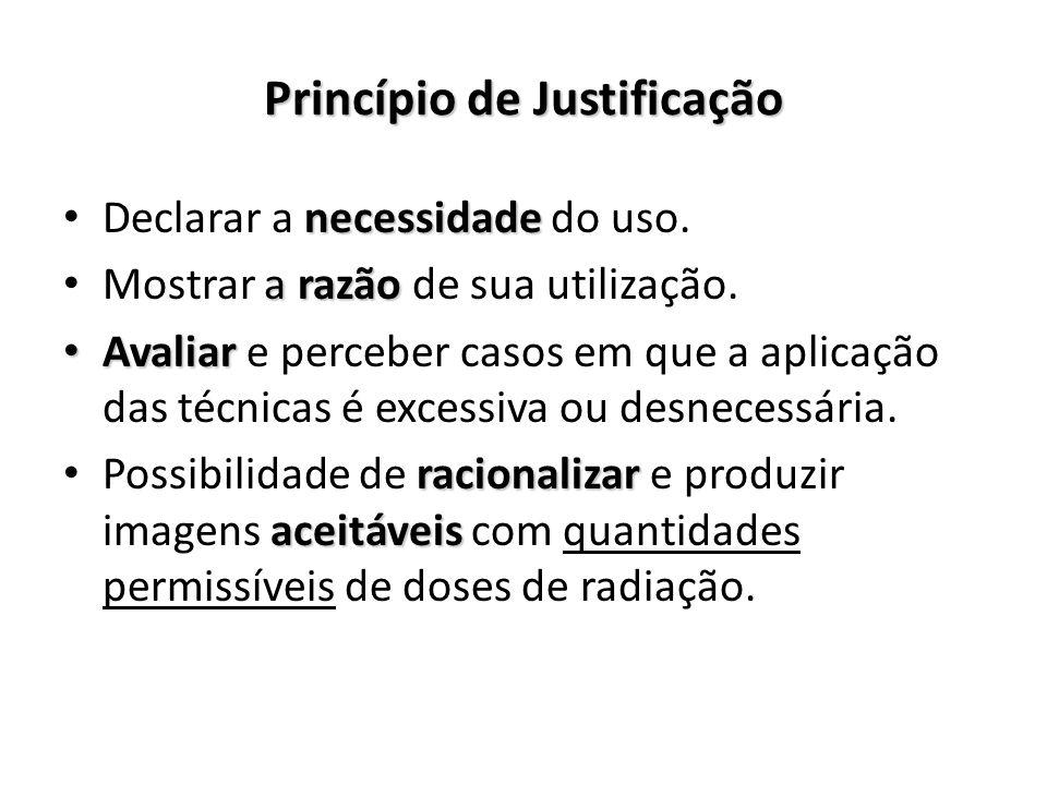 Princípio de Justificação
