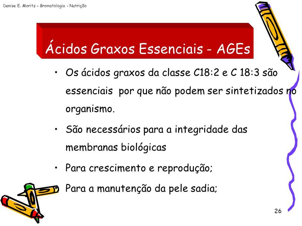 Ácidos Graxos Essenciais - AGEs