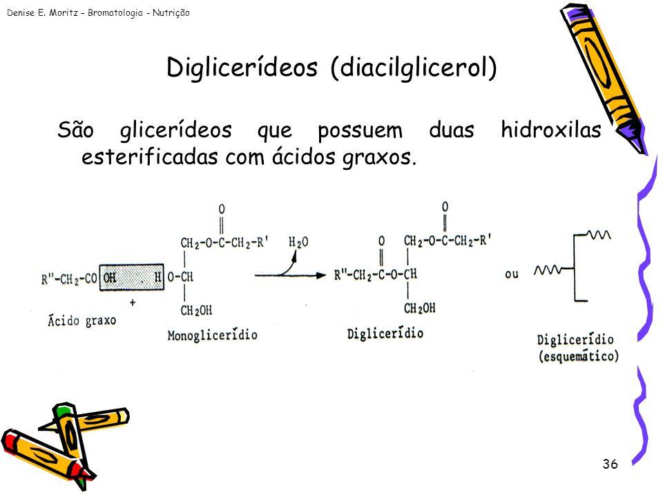 Diglicerídeos (diacilglicerol)