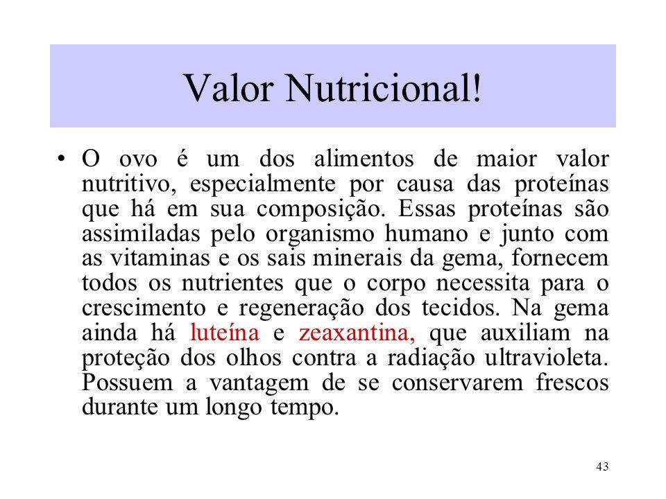 Valor Nutricional!