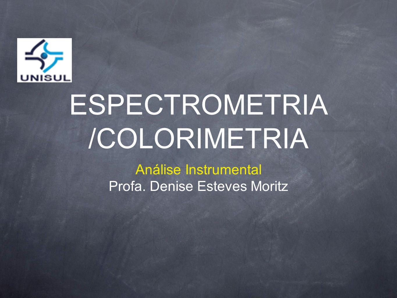 ESPECTROMETRIA /COLORIMETRIA