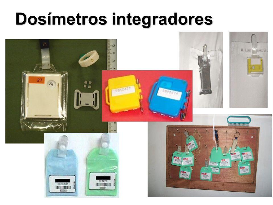 Dosímetros integradores