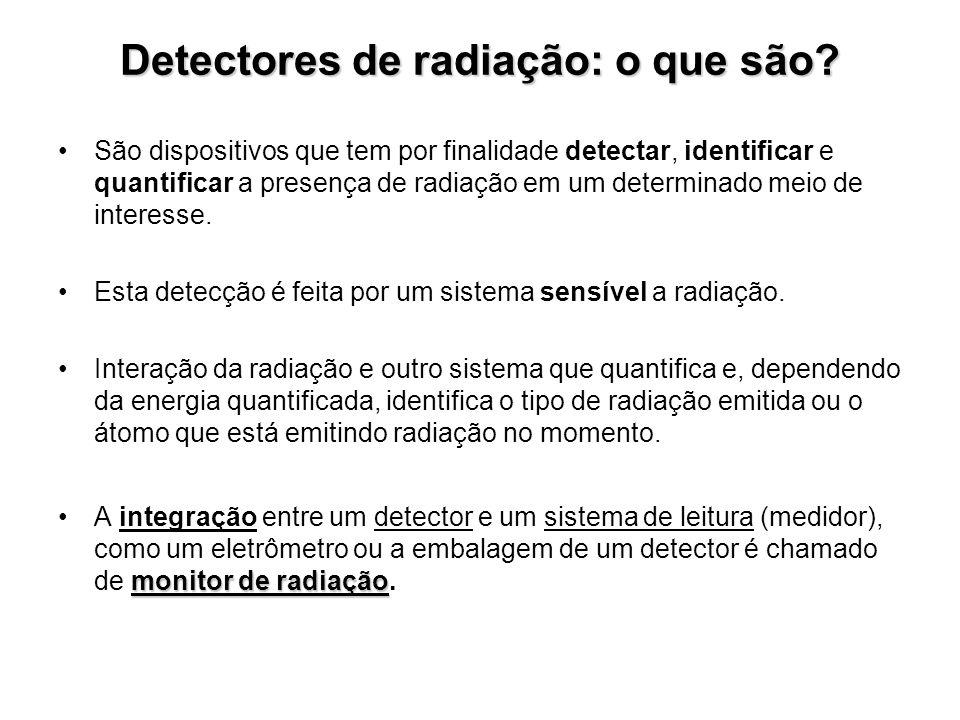 Detectores de radiação: o que são