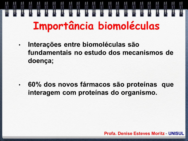Importância biomoléculas