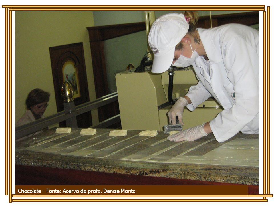 Chocolate - Fonte: Acervo da profa. Denise Moritz