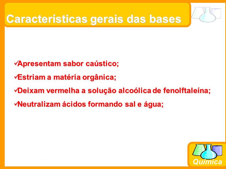 Características gerais das bases