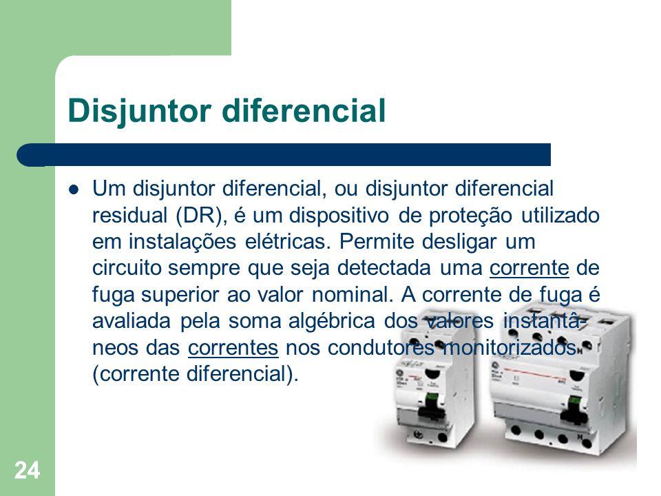 Disjuntor diferencial
