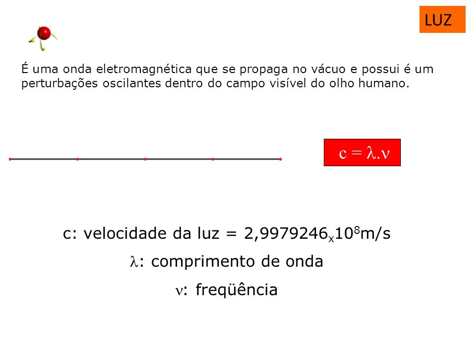 c: velocidade da luz = 2,9979246x108m/s