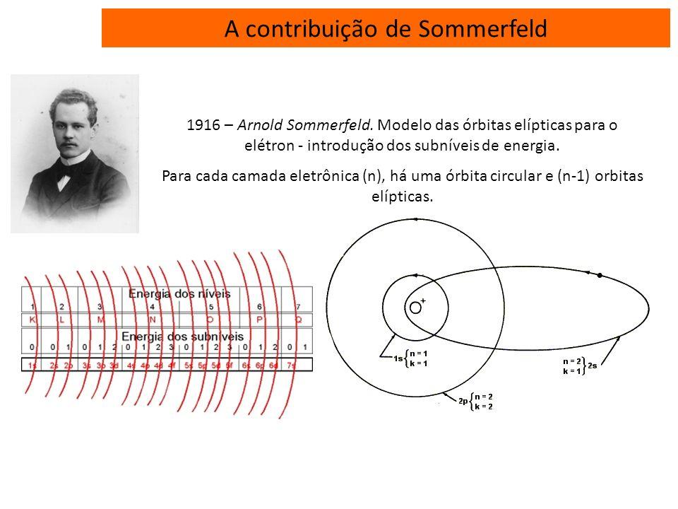A contribuição de Sommerfeld