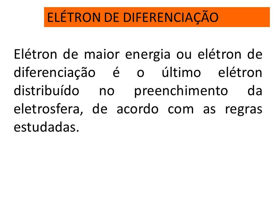 ELÉTRON DE DIFERENCIAÇÃO