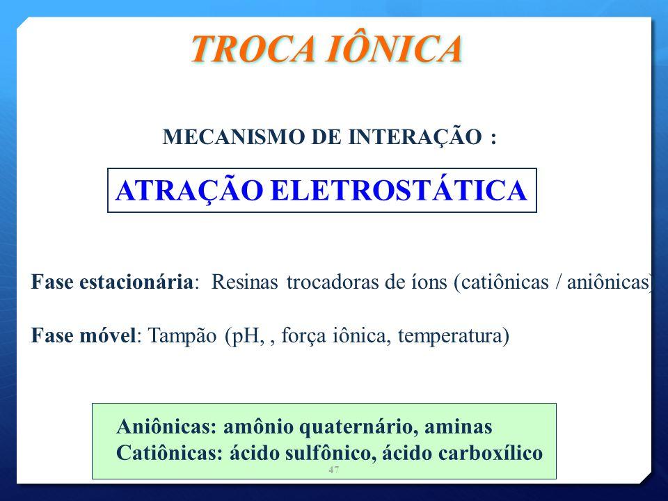 MECANISMO DE INTERAÇÃO :