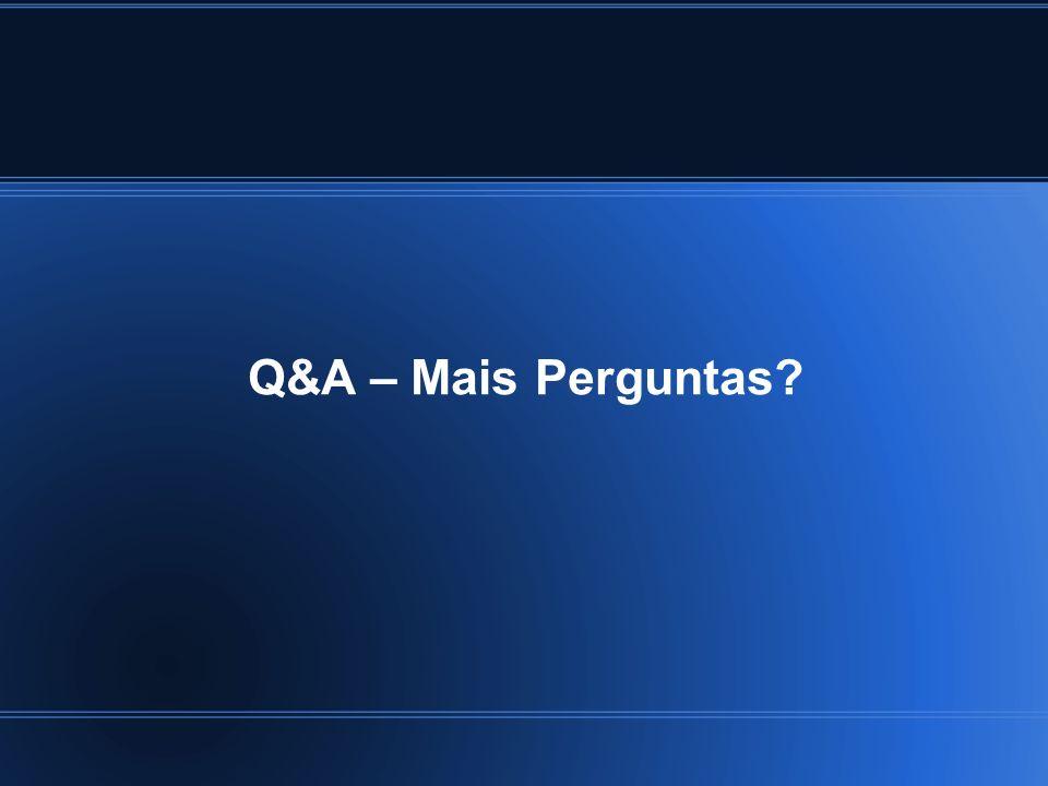 Q&A – Mais Perguntas 14