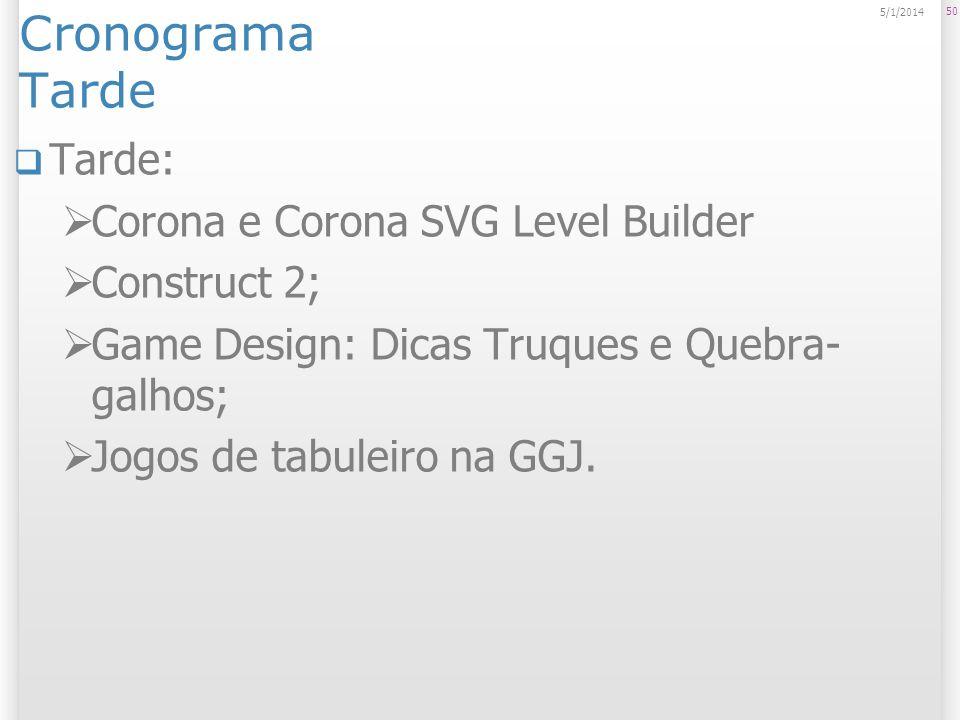 Cronograma Tarde Tarde: Corona e Corona SVG Level Builder Construct 2;