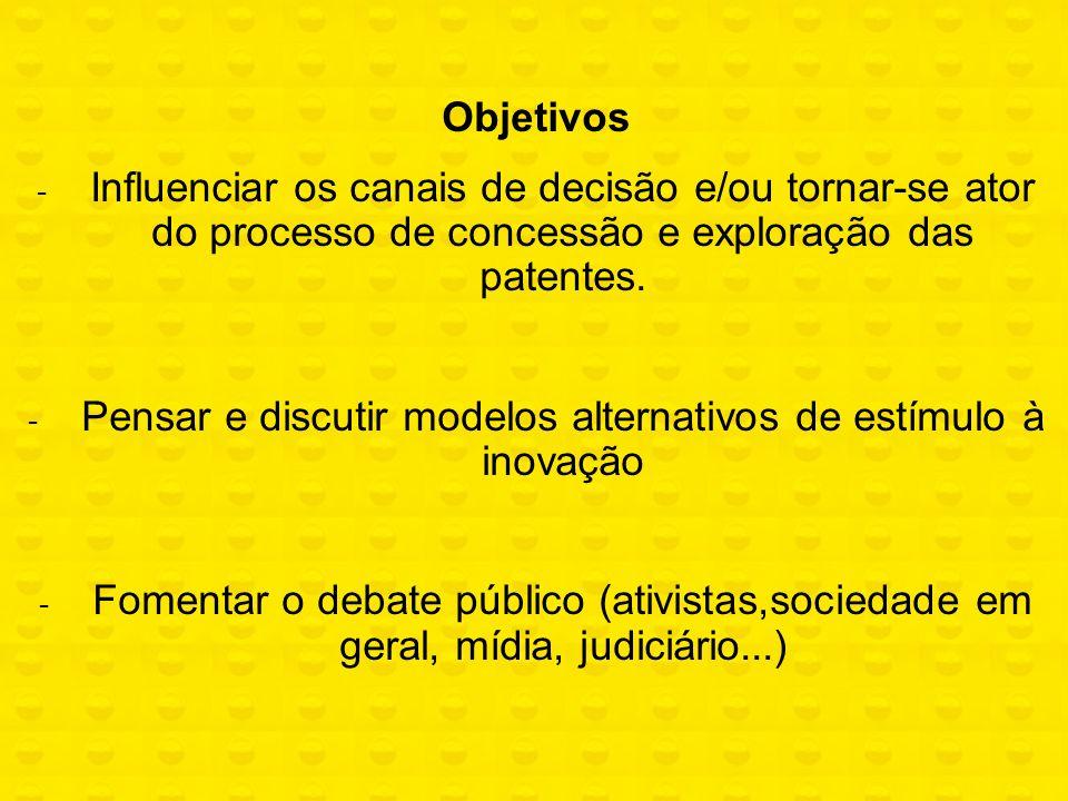 Pensar e discutir modelos alternativos de estímulo à inovação