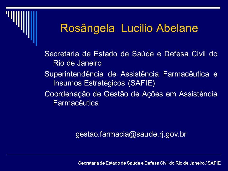 Rosângela Lucilio Abelane