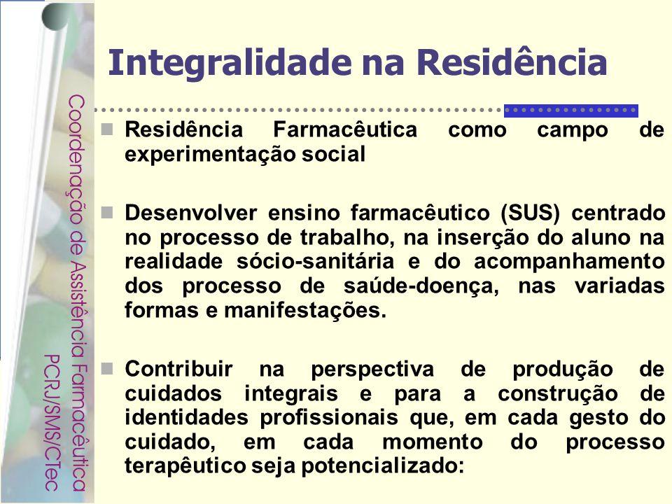Integralidade na Residência