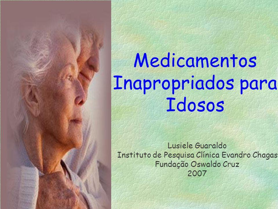 Medicamentos Inapropriados para Idosos