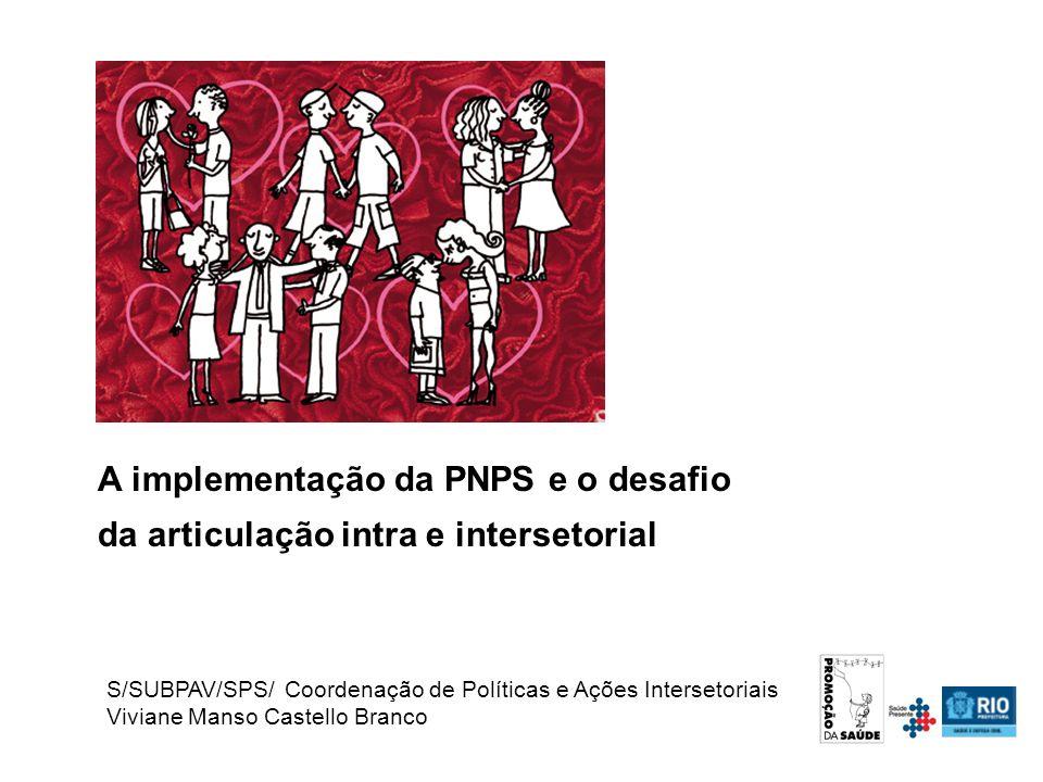 A implementação da PNPS e o desafio