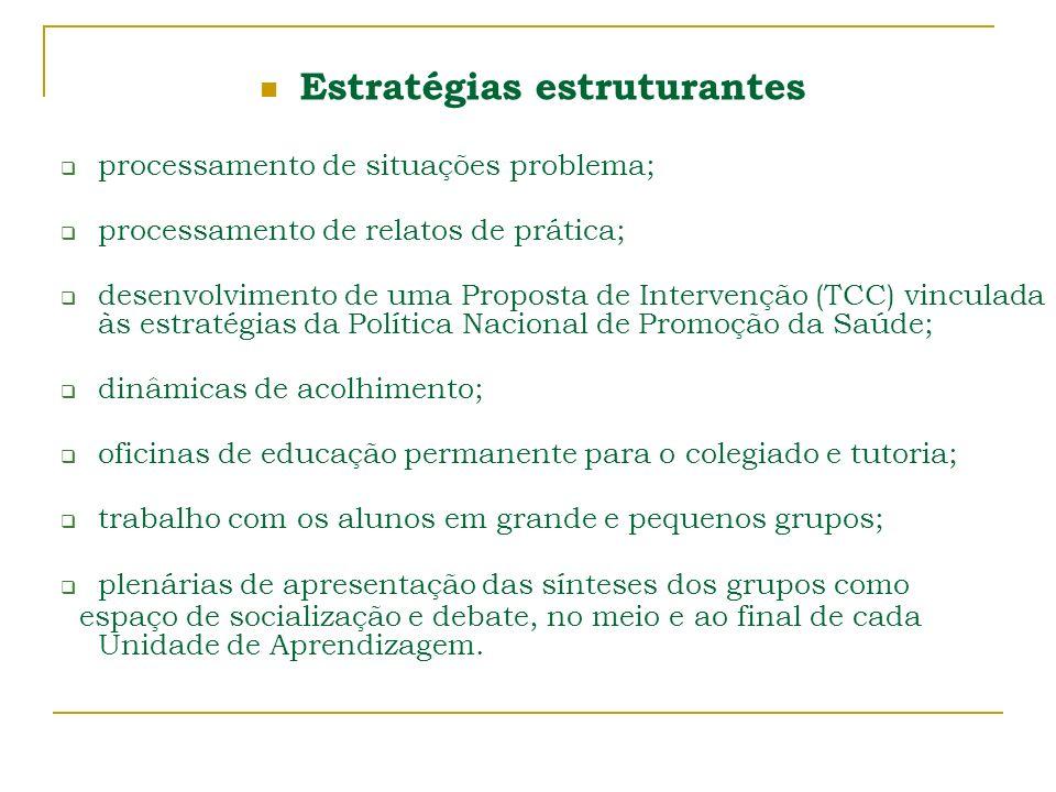 Estratégias estruturantes