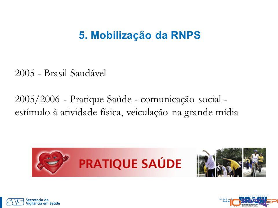 5. Mobilização da RNPS 2005 - Brasil Saudável.