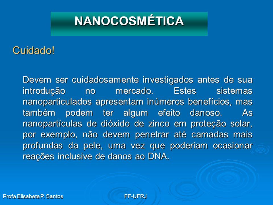 NANOCOSMÉTICA Cuidado!