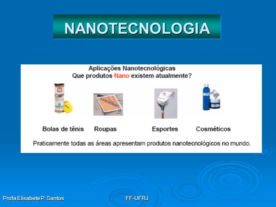 NANOTECNOLOGIA Profa Elisabete P. Santos FF-UFRJ