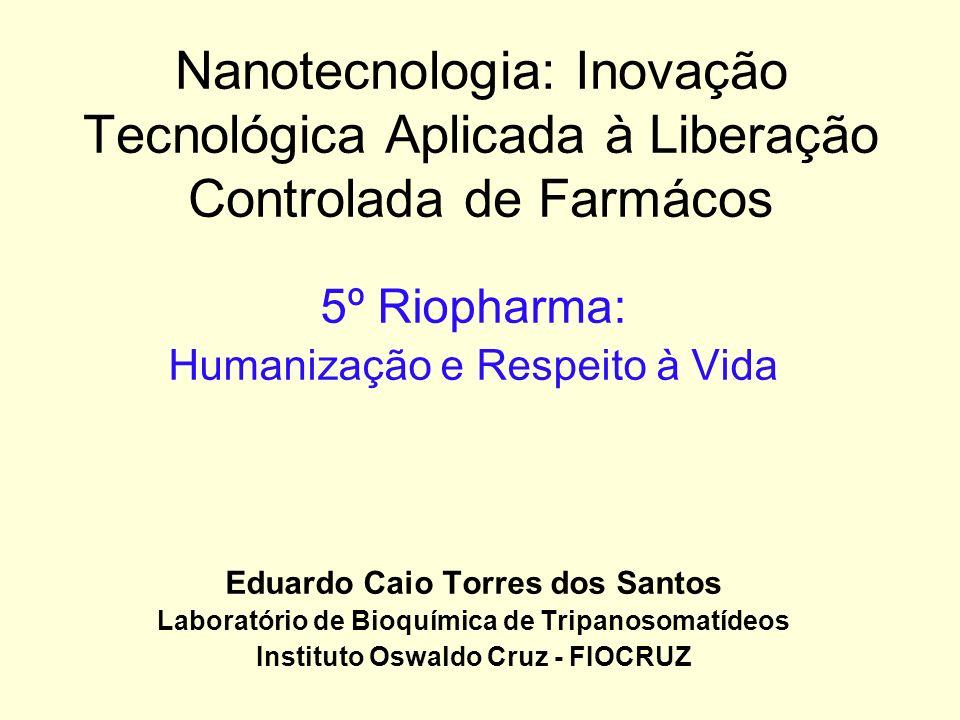 Nanotecnologia: Inovação Tecnológica Aplicada à Liberação Controlada de Farmácos