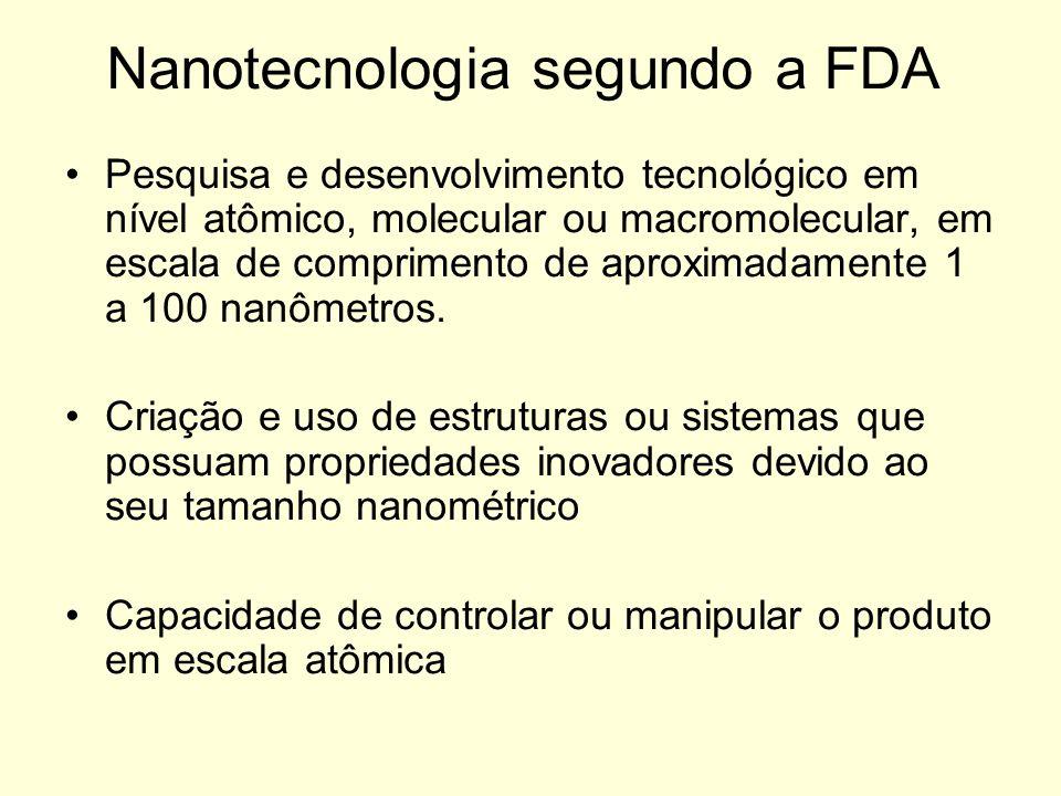 Nanotecnologia segundo a FDA