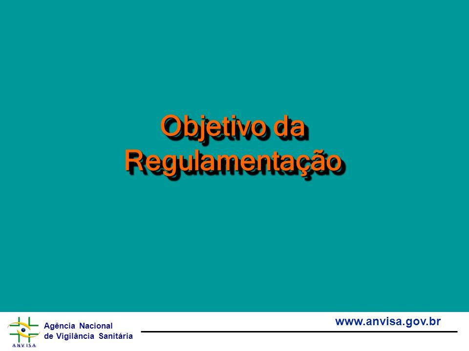 Objetivo da Regulamentação
