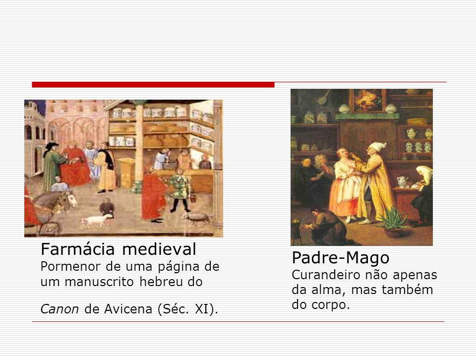 Farmácia medieval Pormenor de uma página de um manuscrito hebreu do Canon de Avicena (Séc. XI).