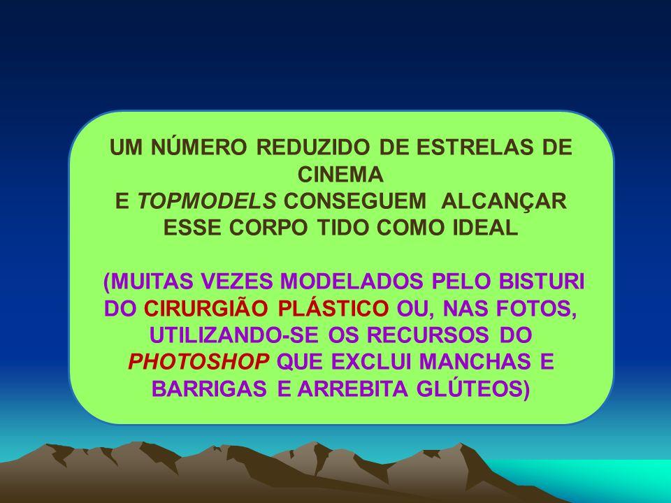 UM NÚMERO REDUZIDO DE ESTRELAS DE CINEMA